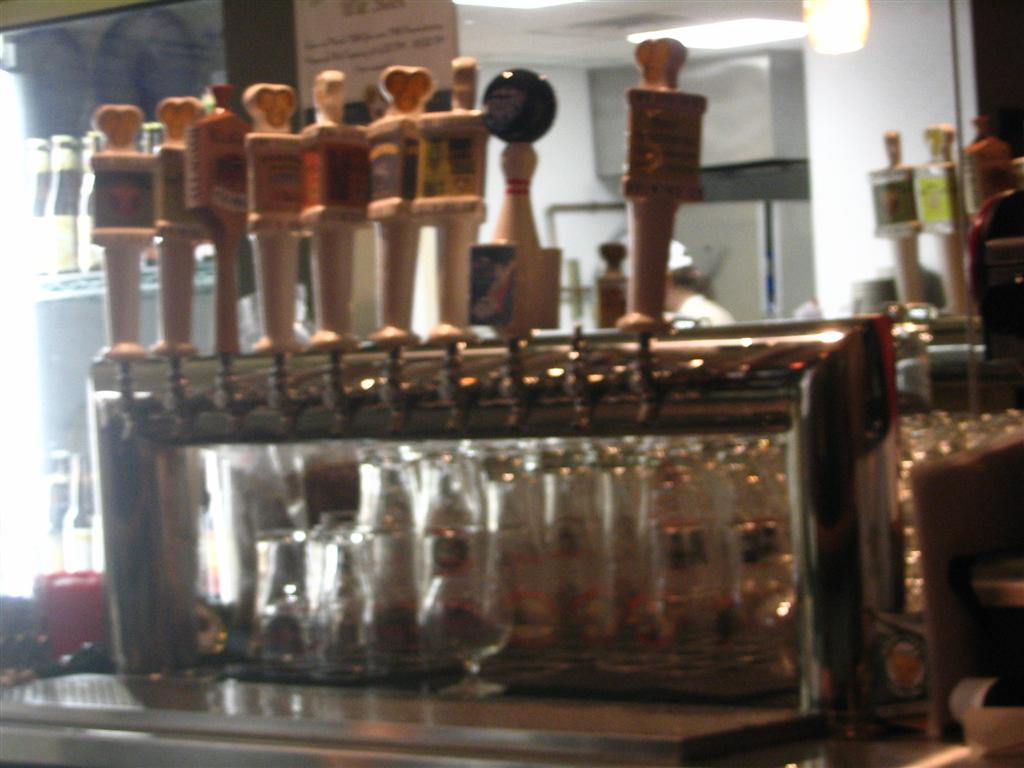 Two Brother Tap House tappers / faucets