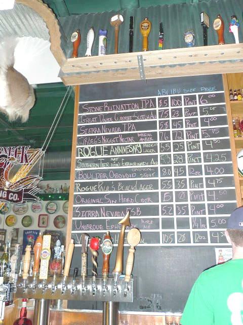 ½-tap list [4 April 2009]