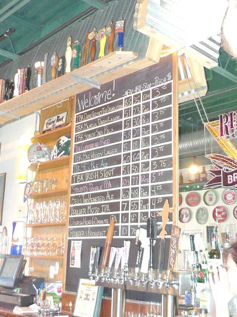 ½-tap list {B} [4 April 2009]