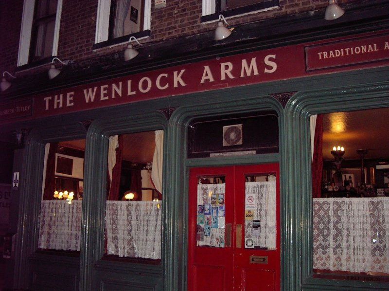 Wot'll it be, guv'nor?: The Wenlock Arms