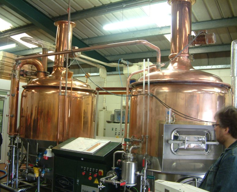 Shiny copper: White Gypsy's brewkit was made for a pub in Singapore
