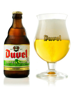 Duvel Tripel Hop Belgian beer