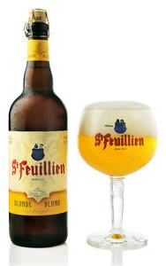 St-Feuillien Blonde beer