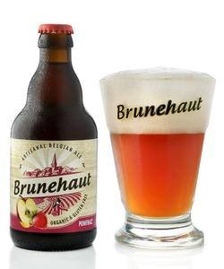 Brunehaut Pomfraiz beer