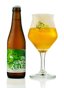 Green Killer IPA beer