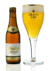 St-Feuillien Grand Cru beer