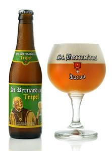 St. Bernardus Tripel Belgian beer