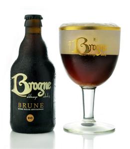 Abbaye de Brogne Brune beer