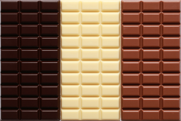 Different sorts of chocolate