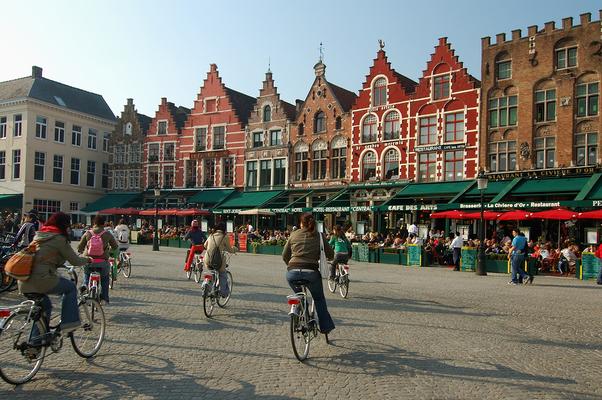 UNESCO World Heritage, Bruges, Brugge, Grote Markt Brugge