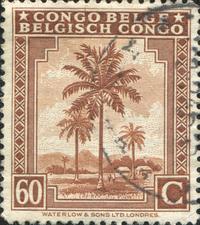 Belgian Congo Postage stamp