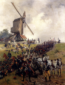 Crofts Ernest The Battle Of Waterloo