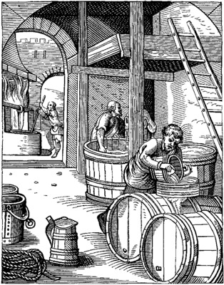 The brewer designed in the sixteenth century