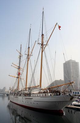 Mercator sailing ship