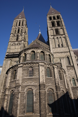UNESCO World Heritage, Notre-Dame Cathedral Tournai, Wallonia