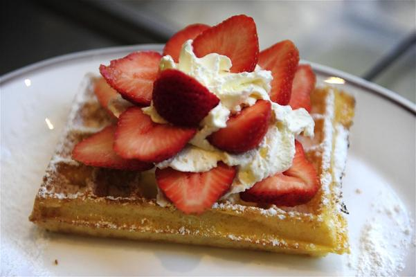 Waffles in Antwerp