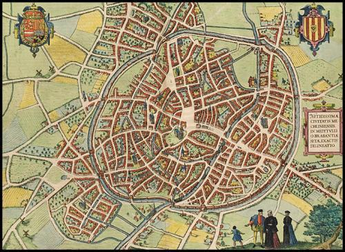 Mechelen old map