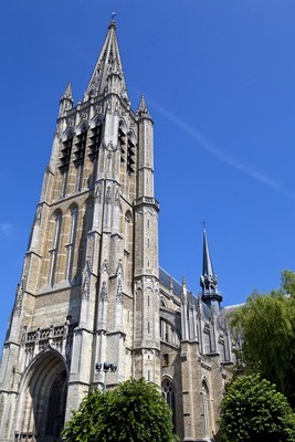 St martins cathedral ypres