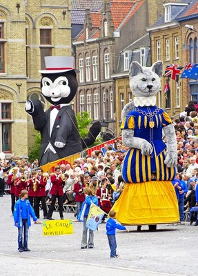 festival of the cat parade ieper