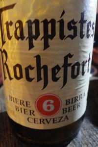 Beer Tourism Café beer tasting Rochefort 6
