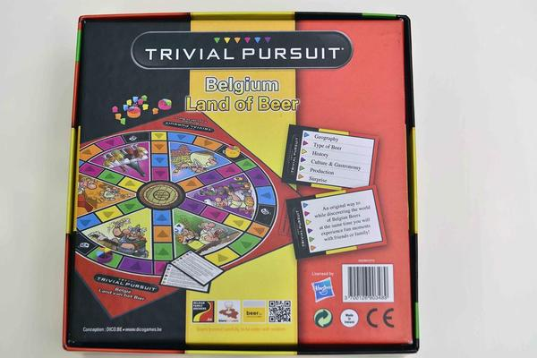 Belgian Beer Trivial Pursuit, beer trivial pursuit, trivial pursuit, belgian beer