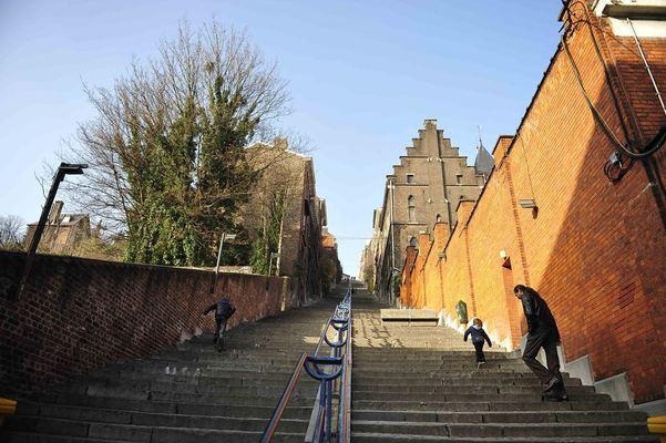 Liège, Liège Travel guide, Montagne de Bueren