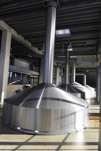 Brewing kettles Duvel-Moortgat