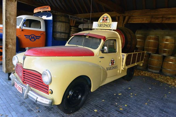 Old Maredsous Delivery Truck
