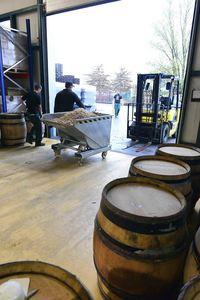 Anders brewery, malt cart