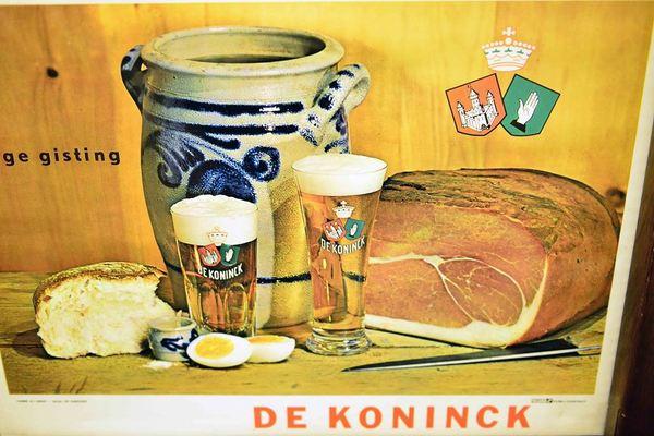 Brouwerij dekoninck reclame