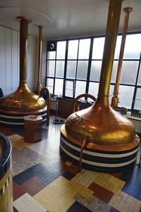 Brouwerij Westmalle, Old Brewery Hall, Copper Kettles
