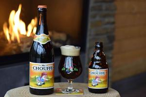 Brasserie D'Achouffe, Mc Chouffe, Poured Glass, Bottles