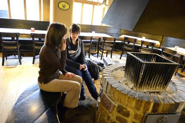 Brasserie D'Achouffe, Tavern, Stove-side seats