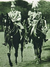 Kaiser Wilhelm II of Germany and King George V of England