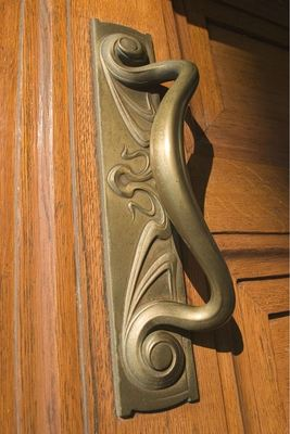 The art is in the details in each Art Nouveau building