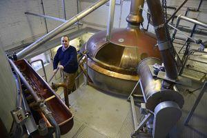 Sint Bernardus brewing hall
