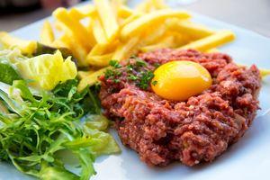 Steak Tartare, Belgian food, Brussels Travel Guide