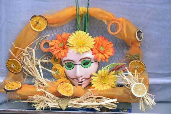 Carnaval binche display