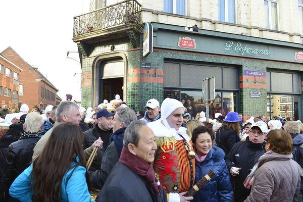 Gilles de Binche, Carnaval de Binche, Carnival in Belgium