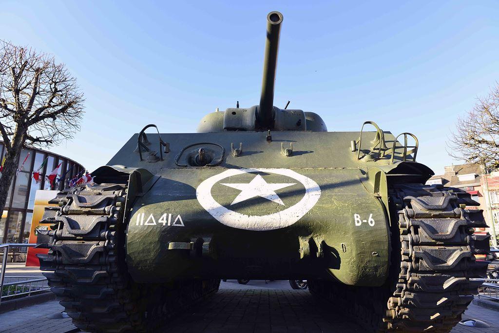 Bastogne war tank