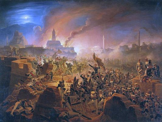 Russio turkish war battle of akhalzic