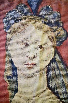 antiques, Belgian antiques bruges tapestry