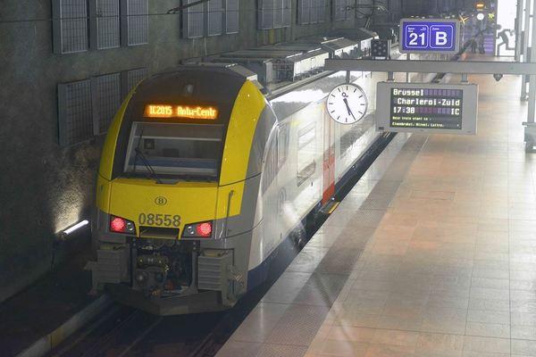 Taking the train in Belgium