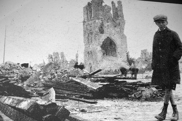 Ypres during WWI