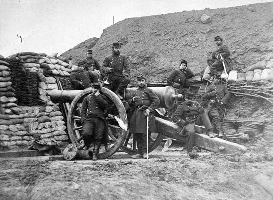 French soldiers in the franco prussian war 1870