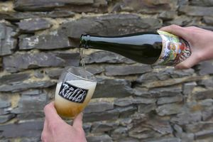 La Rulles beer at Brasserie Artisanale de Rulles