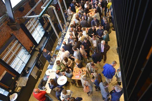 De Koninck Antwerp City Brewery Experience Centre bar