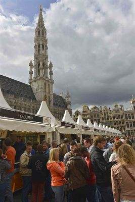 Belgian beer as far as the eye can see