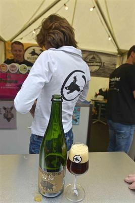 The strong dark Ardenne Spirit Old Ale, new at Brasserie de Bastogne
