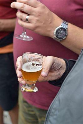 Organic, gluten free beer from Brasserie de Brunehaut